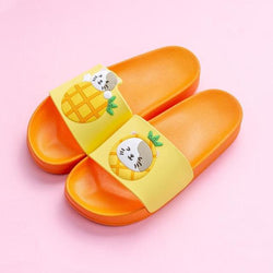 Pineapple Kitty Slides