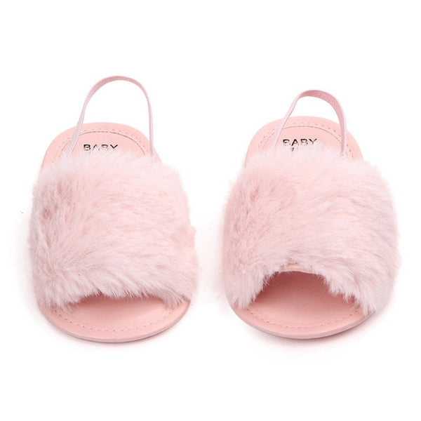 Furry Sandle Baby Sandals