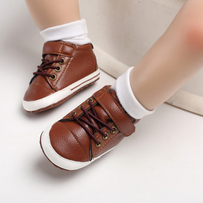 Elegante Leather Baby Shoes