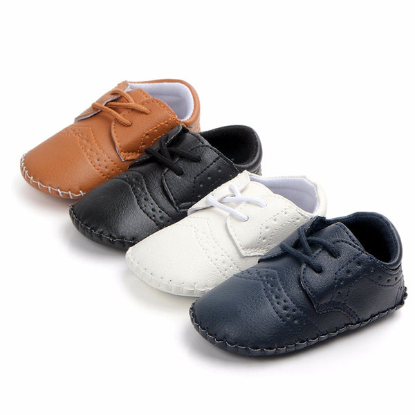 Leather Swagger Baby Shoes