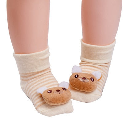 Cute Bear Anti-slip Socks