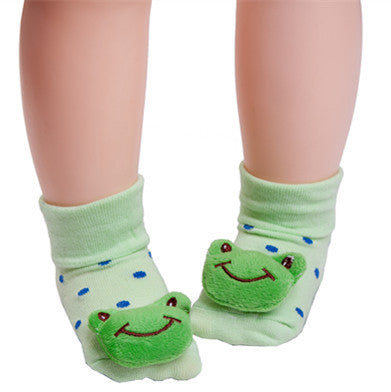 Green Kitty Anti-slip Socks