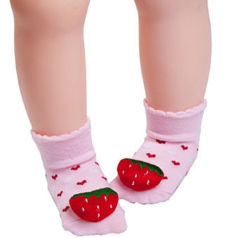 Strawberry Anti-slip Socks