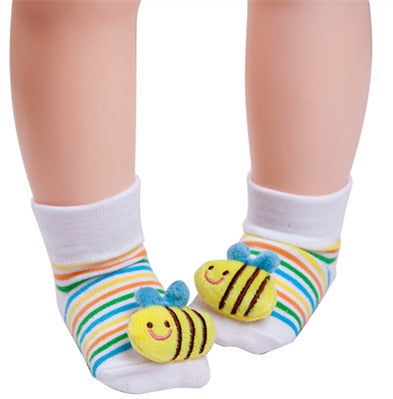 Cute Bee Anti-slip Socks