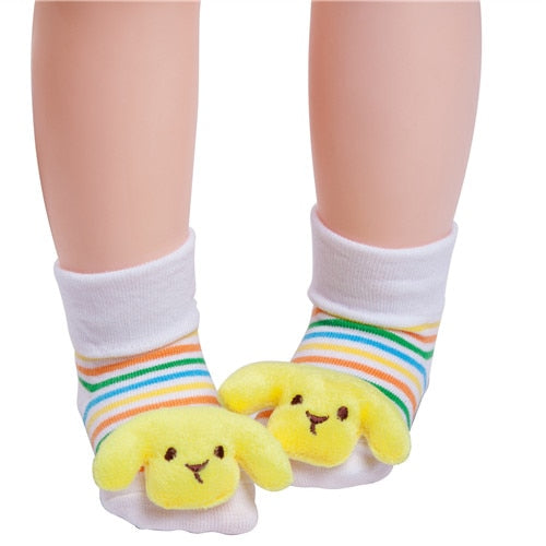 Cute Puppy Anti-slip Socks