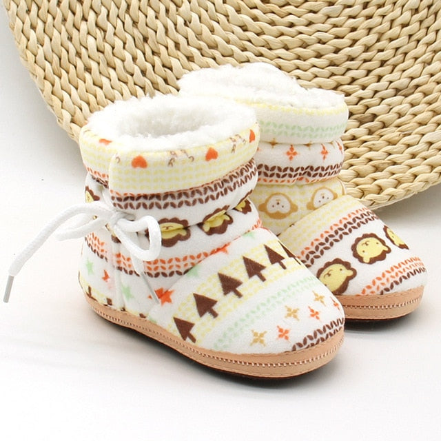 Baby Girl Warm Winter Boots