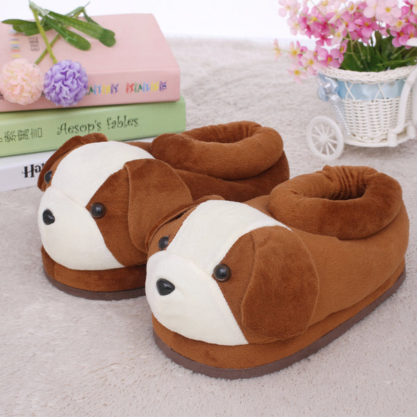 Happy Sole Puppy Slippers