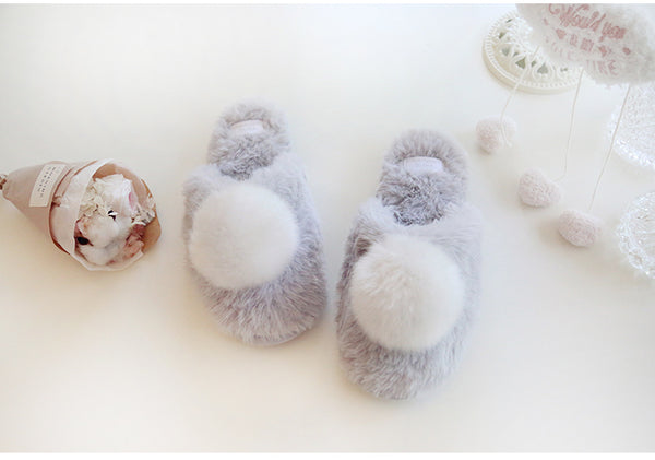 Fur Ball Slippers