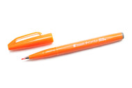 Pentel Fude Touch Calligraphy Fountain - Orange