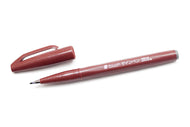 Pentel Fude Touch Calligraphy Felt - Brown