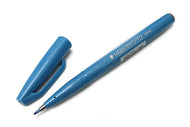 Pentel Fude Touch Calligraphy Felt - Light Blue