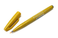 Pentel Fude Touch Calligraphy Felt - Yellow