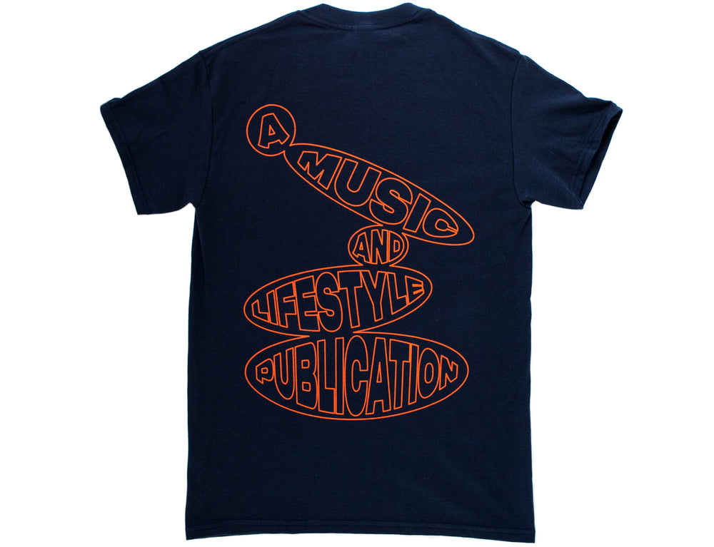 Music & Lifestyle T - Navy