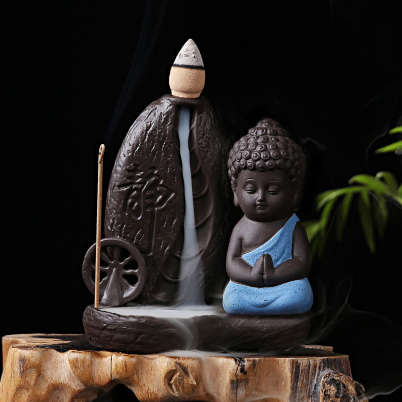 Buddha Backflow Incense Burner - Cute Addictions