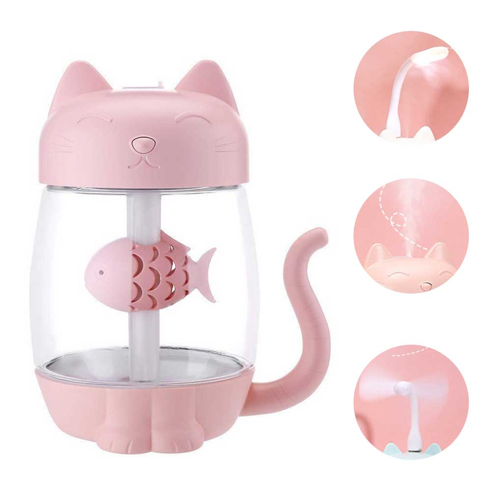 Portable Cat Meow Humidifier