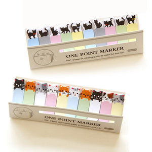 Cat Style Sticker Post it/Memo Flag Labels