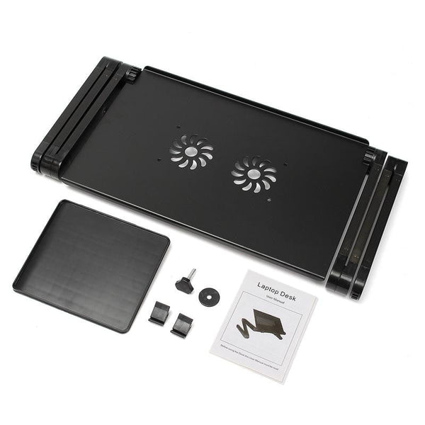 Adjustable Ergonomic Portable Laptop Desk (Mouse Pad Included) - Cute Addictions
