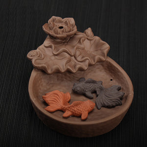 Koi Pond Backflow Incense Holder - Cute Addictions