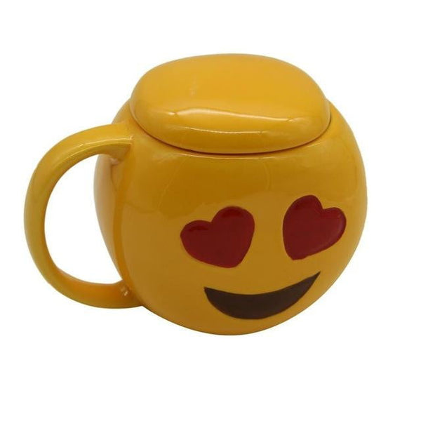 3D Funny Emoji Mug - Cute Addictions
