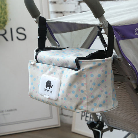 Multifunctional Baby Diaper Bag With Shoulder Strap - Cute Addictions