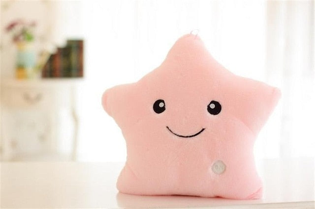 LED Star Pillow - Cute Addictions