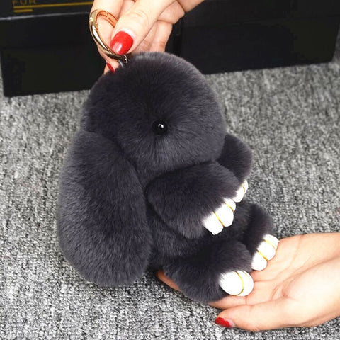 Super Soft Bunny Keychain - MUST Have for 2019! - Cute Addictions