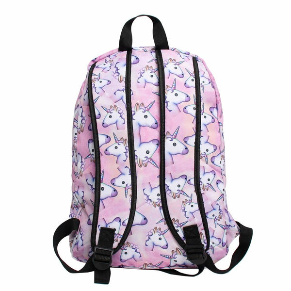 3PCS /set Printed Unicorn Backpack - Cute Addictions