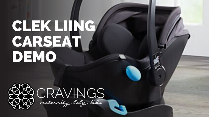 Clek Liing Carseat Demo
