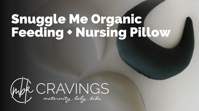 Snuggle Me Organic Feeding + Support Pillow