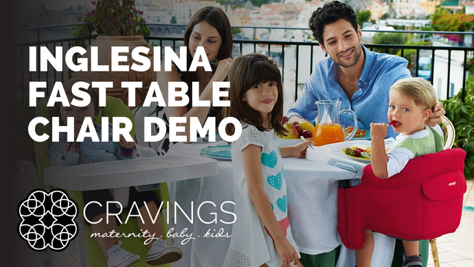 Inglesina Fast Table Chair Demo