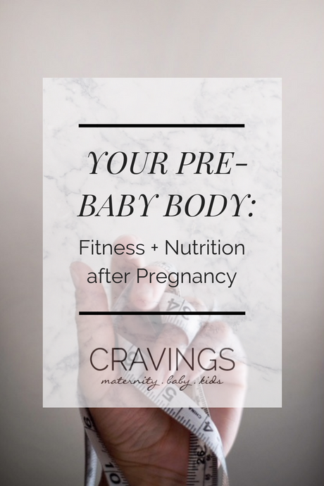 Your Pre-Baby Body: Fitness + Nutrition After Pregnancy