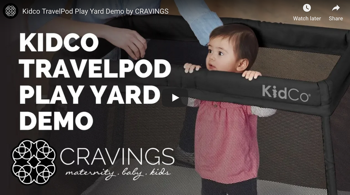 Kidco TravelPod Play Yard Demo
