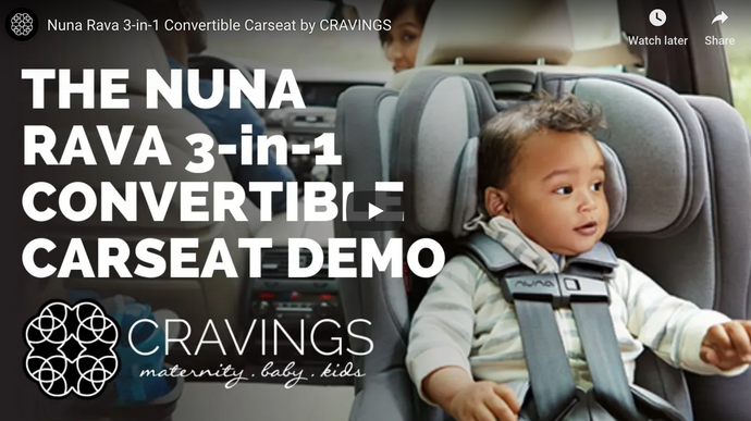 Nuna Rava 3-in-1 Convertible Carseat