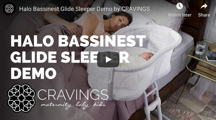The Halo Bassinest Glide Sleeper Demo