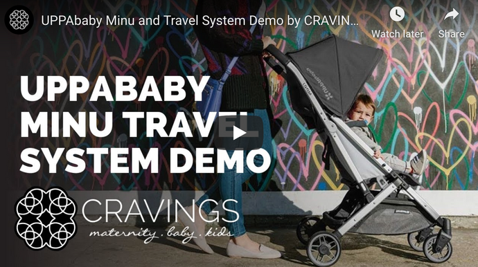UPPAbaby Minu Travel System Demo