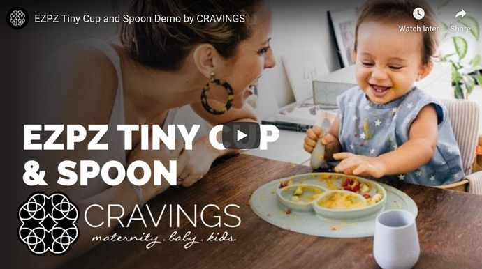 EZPZ Tiny Spoon and Cup Demo