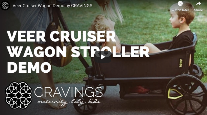 Veer Cruiser Stroller Wagon Demo