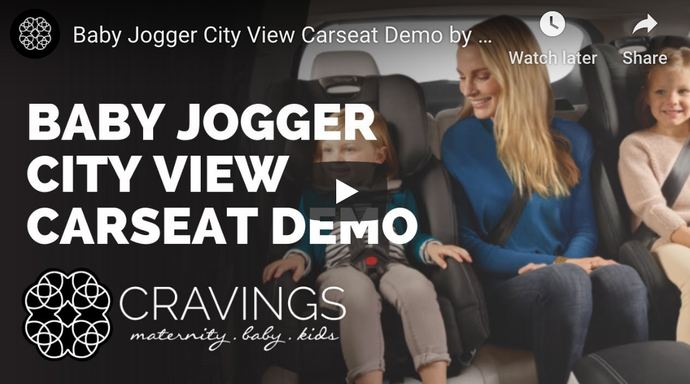 Baby Jogger City View Car Seat Demo