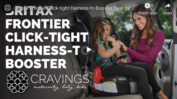 Britax Frontier Click-tight Harness-to-Booster Demo