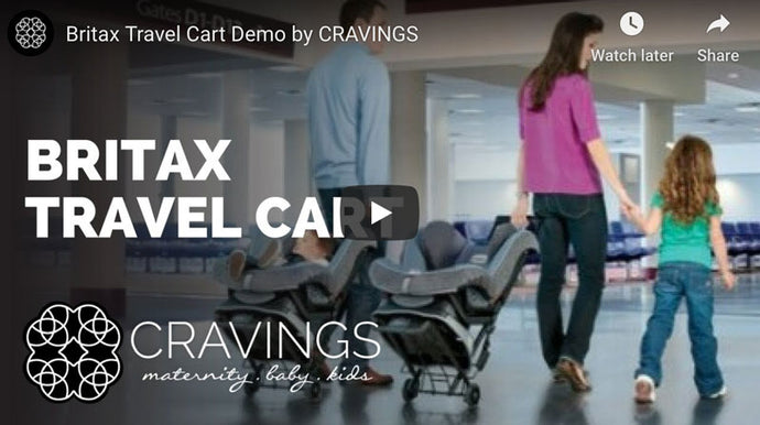 Britax Car Seat Travel Cart Demo