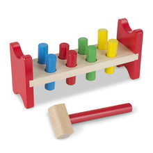 Load image into Gallery viewer, Melissa & Doug Pound-a-Peg Classic Toy