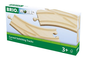 Brio Curved Switching Tracks for Railway