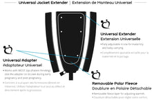 Load image into Gallery viewer, Make My Belly Fit Universal Jacket Extender