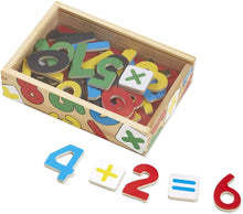 Load image into Gallery viewer, Melissa & Doug Magnetic Wooden Numbers