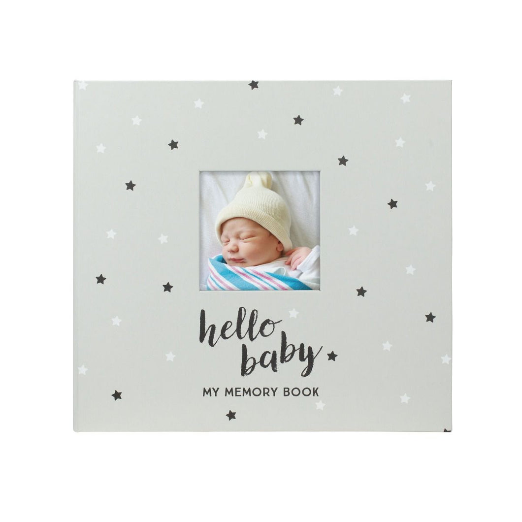 Pearhead Baby Memory Book & Sticker Set