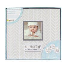 Load image into Gallery viewer, Pearhead Baby Memory Book & Sticker Set