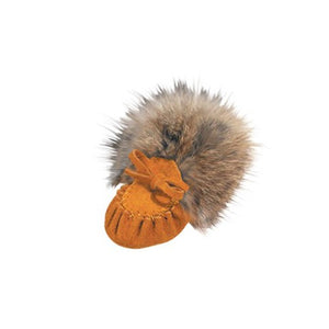 Chief Laurentian Baby moccasin Fur Collar, Insole
