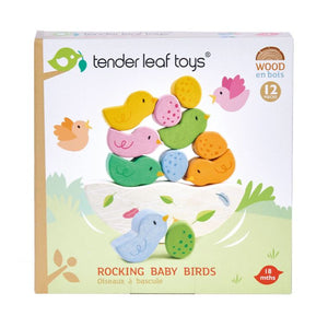 Tender Leaf Rocking Baby Birds