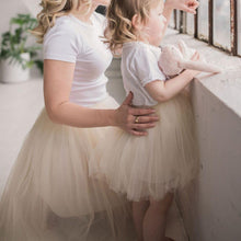 Load image into Gallery viewer, Bluish Classic Mom Mini Me Tutu Skirt