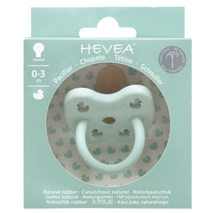Hevea Planet Colourful Pacifier - Round